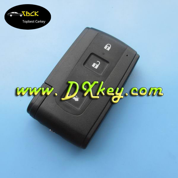 Topbest custom car key covers car key shell for toyota smart key cover