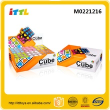 Kids promotional custom magical cubes 3d puzzle intelligent toy