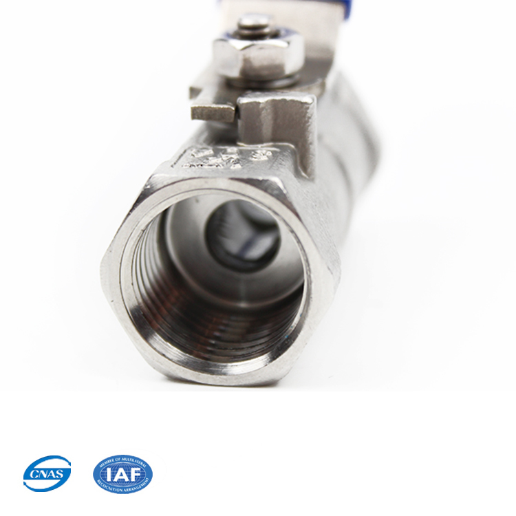 small size SS316 whitey full bore FB LP ball valve