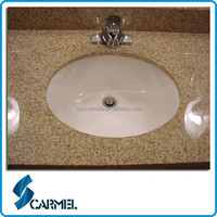 Cheap Natural granite vanity tops with vessel sink