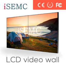 Indoor 47inch live broadcast splicing lcd video wall unit DID with free controller ultra narrow bezel 4.7mm