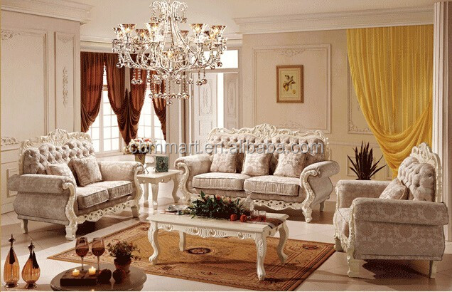 Foshan made luxury classic couch