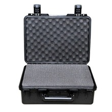 Tricases M2400 IP67 Waterproof heavy duty tool cases Industrial safety cases,plastic storage box with foam,large plastic waterpr