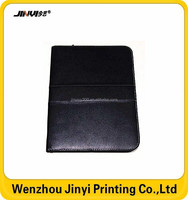 leather zipper portfolio with calculator