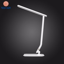 Factory Supply ABS Touch Switch LED Table Lamp With USB Charging Port