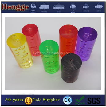 SGS Certification Colored Acrylic Bubble Rod