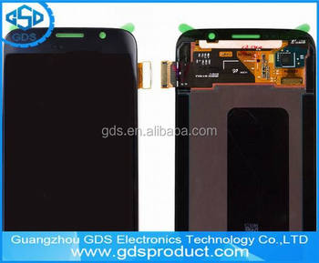 Blue LCD Display With Touch Digitizer Screen For Galaxi S6
