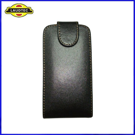 Leather Flip Case Pouch Cover Holster for Sony Ericsson Xperia Neo MT15i