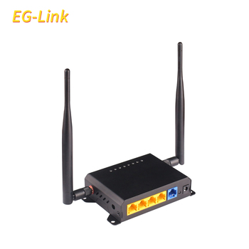 Support 1WAN And 4LAN 300Mbps Double Wifi Antenna Car Router