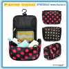 custom microfiber hanging wash bag cosmetics makeup bag travel toiletry bag