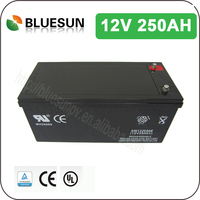 China Manufacturer and better supplier sealed lead acid rechargeable battery 12v250ah with quality guaranteed