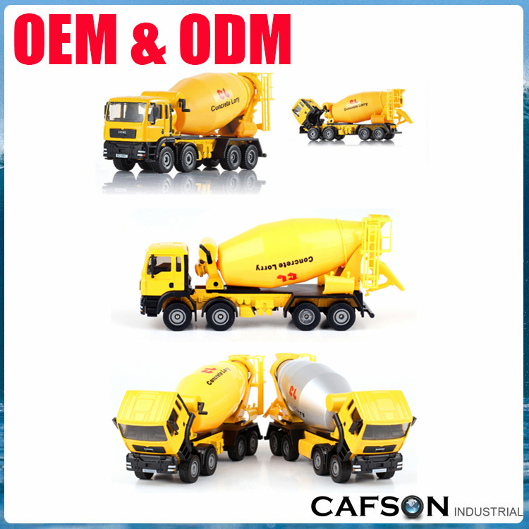 1:50 Scale diecast model diecast cement mixer diecast concrete mixer truck