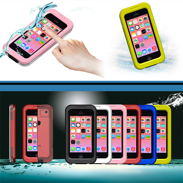 Hot Selling Fahsion Waterproof Case Cover For iPhone 5c 4 4s