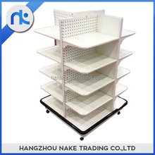 High Quality Free Standing Supermarket Metal Storage Shelves