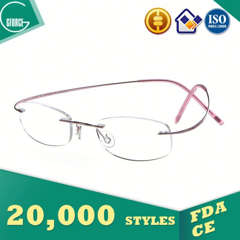 Titanium Eyewear Folding Optical Reading Glasses