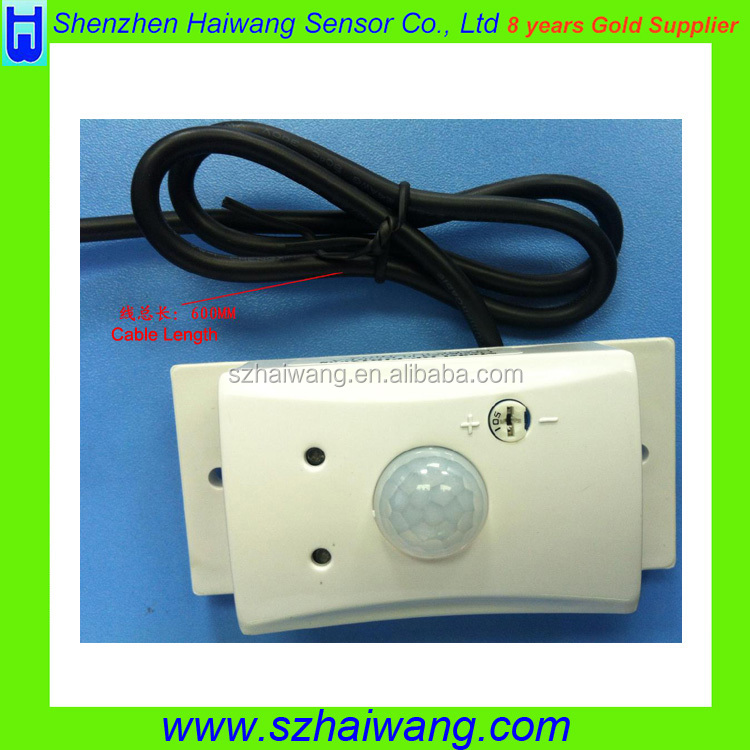 24V Wall Mount PIR New Motion Sensor electric Light Switch
