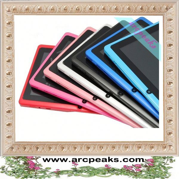 most affordable capacitive super thin 7 inch Q88 i robot android tablet pc touch screen
