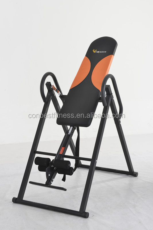Fitness equipment inversion table