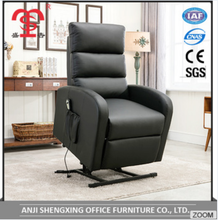 Single Electric Massage Leather Sofa Stand Up Lift Recliner