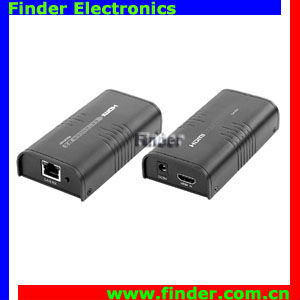 HDMI Network Extender & Splitter by Single CAT5e/6 Cable 100m-120m or Unlimited Distance Over Router under TCP/IP