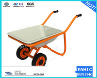 Outdoor toys metal hopper car hand cart for children KC011