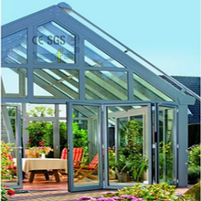 Outdoor Sunroom Aluminum Profile Patio Porch Enclosures Glass House