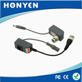 Single Channel Power/Video transceiver HY-206 Copper BNC