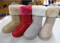 2016 new design manufactory hotsale snow winter camo boots shoes winter women fur snow boots