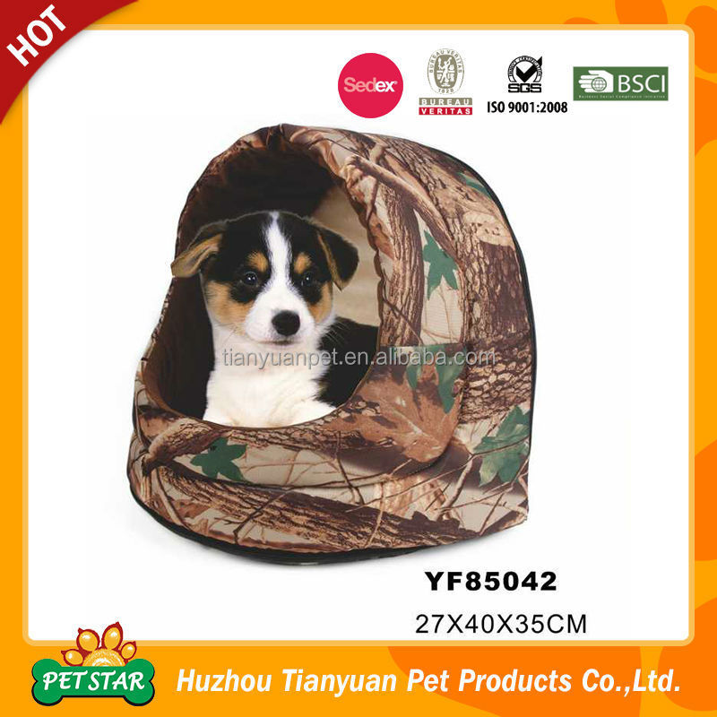 Waterproof Camo Design Thick Dog Mattress Oxford