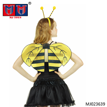 Factory directly sale children funny bee costume with headdress