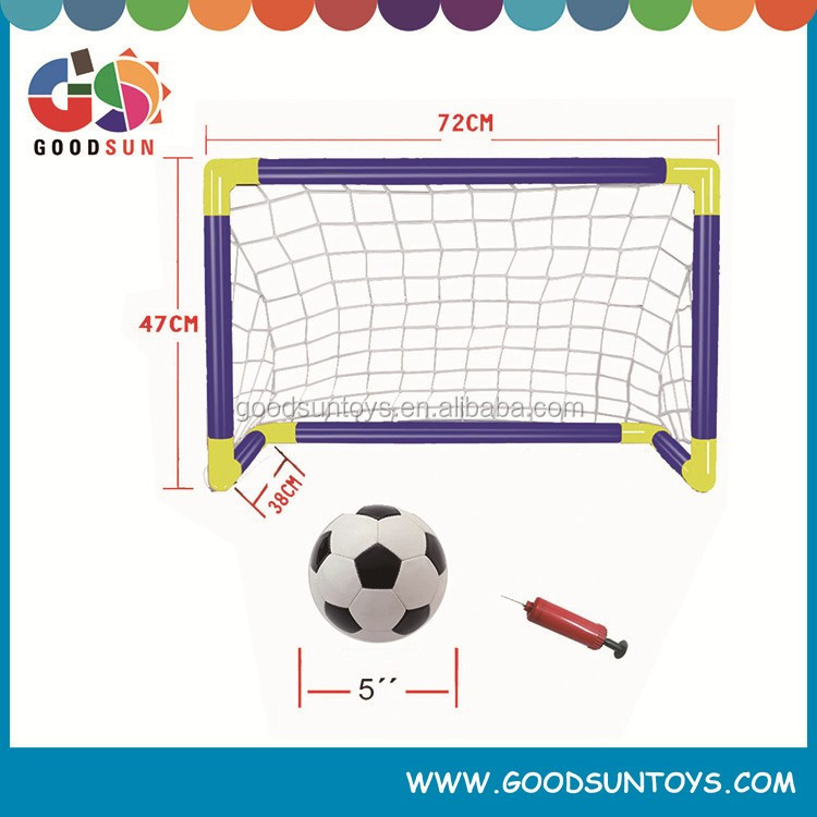 Mini football gate plastic football goal soccer football goal gate toy