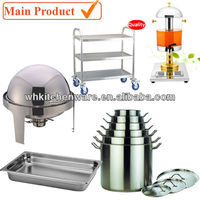 Professional Stainless Steel Restaurant Utensils/ Hotel Catering Equipment