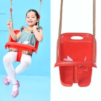 safe lock Outdoor Kids Garden Plastic Rope safe durable plastic baby patio swing chair