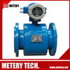 Digital electrromagnetic hot water flow rate meter