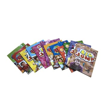 Mosa and Nasa's Big Jump Clil Phonics Monster total 34 Audio Books and smart Talking pen