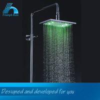 Quality Assured Customized Logo Printed Direct Price Led Shower Heads