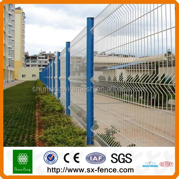 Powder coated fence steel mesh