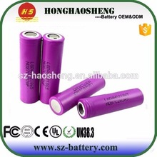 Hot sale high quality 18650 2000mah 3.7v Li-ion rechargeable battery with solder tabs for DIY Power Bank