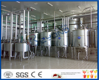 complete Dairy processing machine