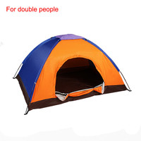 Outdoor waterproof portable camping tent