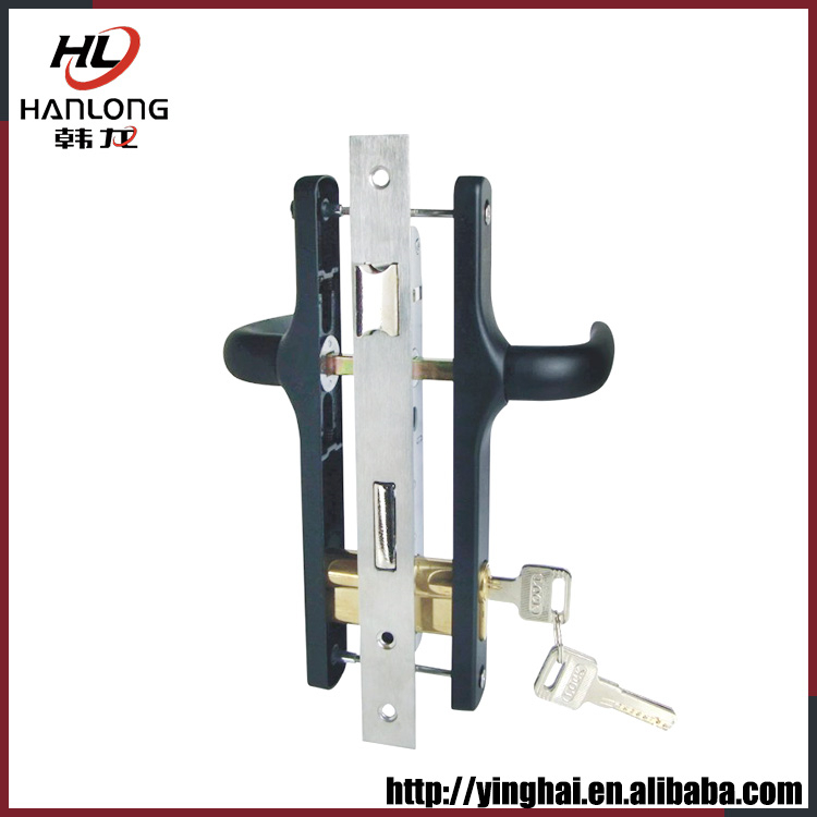 Factory wholesale lock set aluminum door handle