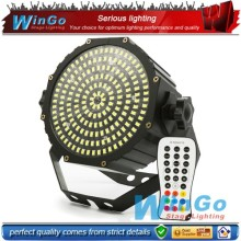 Best Quality Mini Single Led Lights 189 IR remote control led flat par Led Flashing Strobe Light