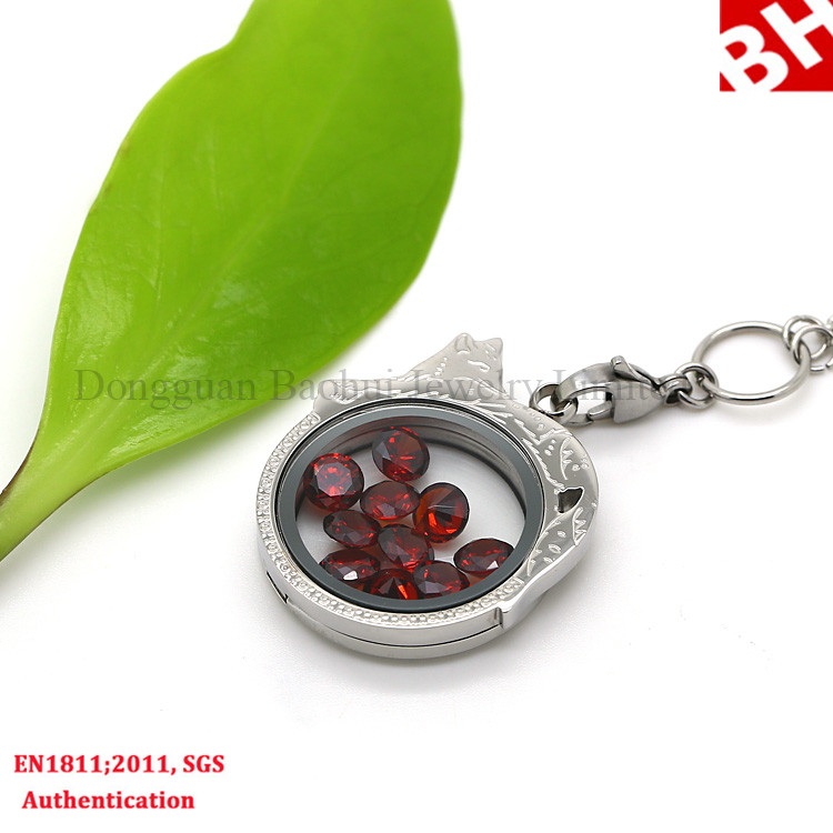 Leading factory locket brand Baohui Jewelry BHP0039 good quality forever heart shape locket
