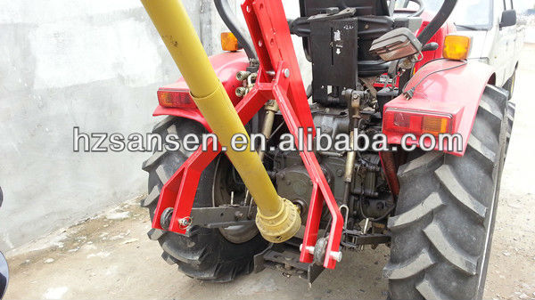 tractor post hole digger with auger ,3 point linkage mounted pto shaft  lowes hydraulipost hole  trees drill 25,50,75 hp gearbox