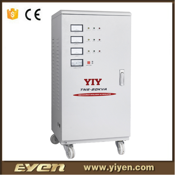power supply voltage stabilizer 3 phase stabilizer voltage 20kva ac servo motor stabilizer