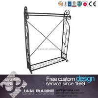 Exquisite vintage frame display rack clothes display stand for shop