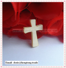 HOT sale natural color wooden cross, wood decorative cross,wood pendant