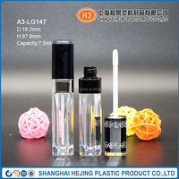 AS square lip gloss bottle with applicator