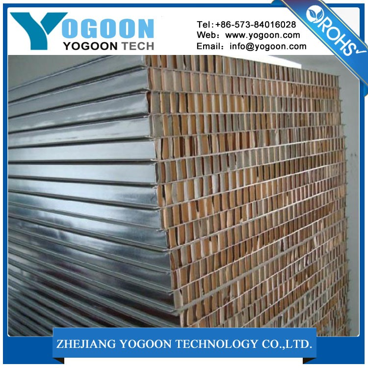 New style cheap building construction expanded material aluminum honeycomb core machine