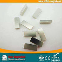 Super strong NdFeB Permanent Cylinder Neodymium Magnet Ndfeb Injection Molding For Motors